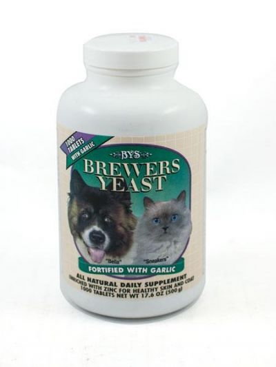 Brewers Yeast Natural Daily Supplement 1000 Tablets