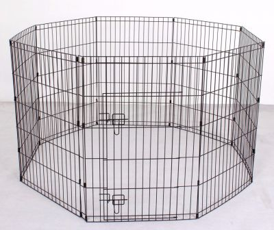 Pet Play Pen 6008 Black 2 Feet x 3 Feet x 8 pcs