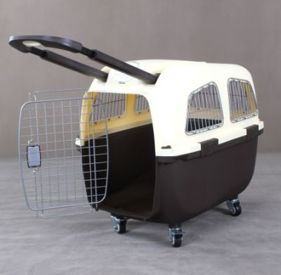 Pet Carrier With Handle & Wheel 6092