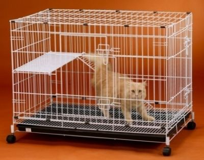Collapsible Cat Cage 6355