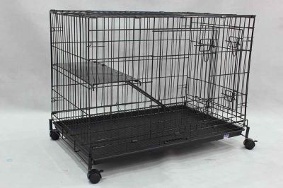 "Collapsible Cat Cage 6366 36"" x 22"" x 28"""