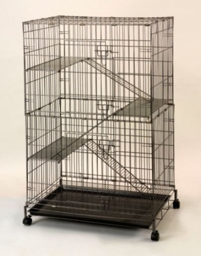 Collapsible Steel Cat Cage 6399