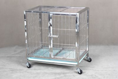 Stainless Steel Dog Cage SSC9310