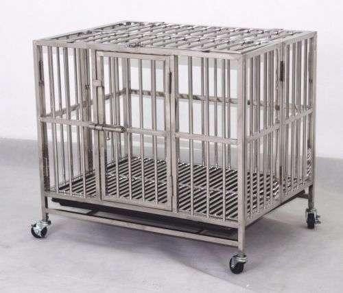 Stainless Steel Dog Cage SSC9311