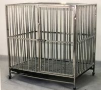 Stainless Steel Dog Cage 9314