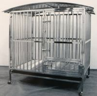 Stainless Steel Dog Cage 93152