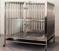 Stainless Steel Dog Cage 9315