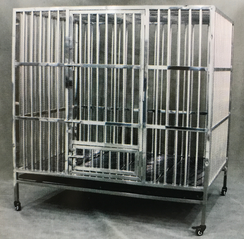 Stainless Steel Dog Cage 9316