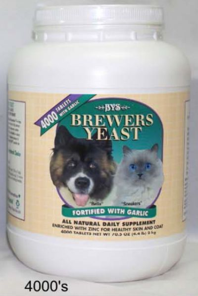 Brewers Yeast Natural Daily Supplement 4000 Tablets