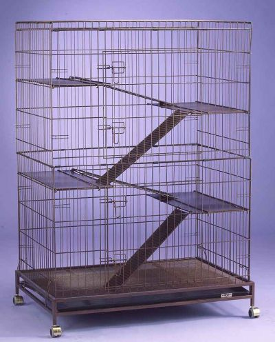 Collapsible Steel Cat Cage C355RI