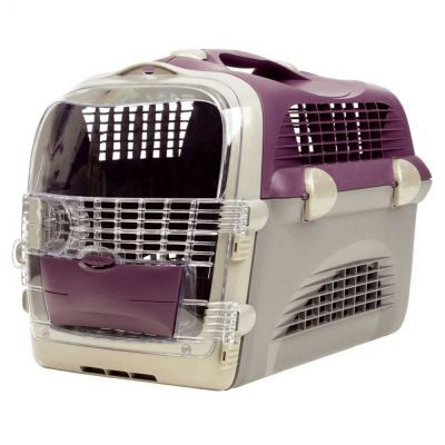 50780 Catit Cargo Cabrio Maroon Cat Carrier