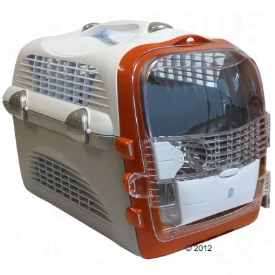 50783 Catit Cargo Cabrio Burnt Orange Cat Carrier