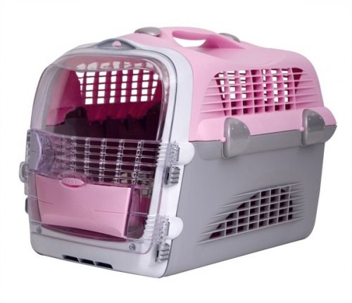 50782 Catit Cargo Cabrio Pink Cat Carrier
