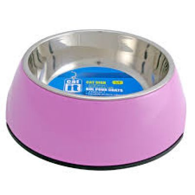 54500 Catit 2 In 1 Durable Bowl XS 160ml Pink