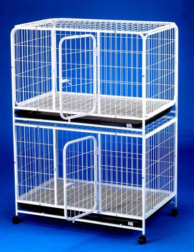 Double Storey Dog Cage Pet Cage D2322
