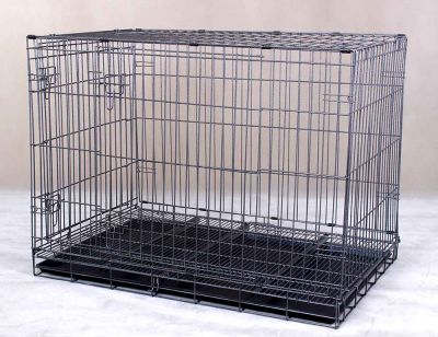 Collapsible Steel Pet Dog Cage D307