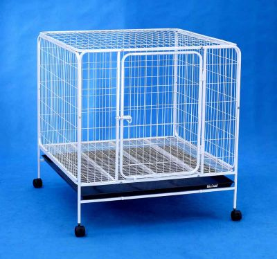 Steel Dog Cage D333