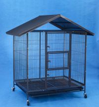Steel Dog Cage D336