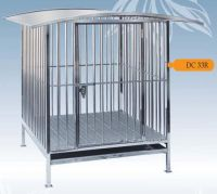 Fully Welded Stainless Steel Dog Cage DC33R