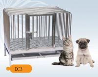 Fully Welded Stainless Steel Dog Cage DC3