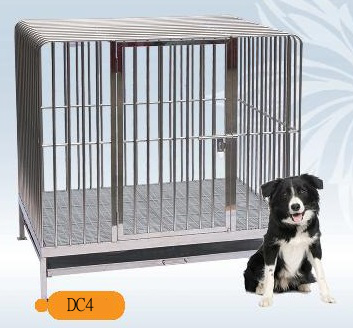 Fully Welded Stainless Steel Dog Cage DC4