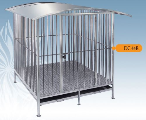 Fully Welded Stainless Steel Dog Cage DC44R