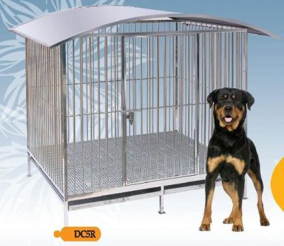 Fully Welded Stainless Steel Dog Cage DC5R