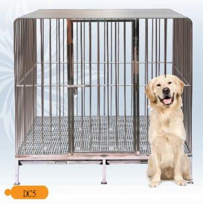 Fully Welded Stainless Steel Dog Cage DC5