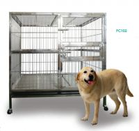 Stainless Steel Dog Cage PC102 201 Material