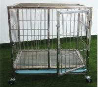 Stainless Steel Pet Dog Cage PC601