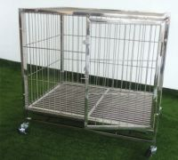 Stainless Steel Pet Dog Cage PC602