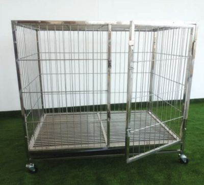 Stainless Steel Pet Dog Cage PC603