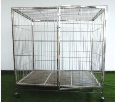 Stainless Steel Pet Dog Cage PC604