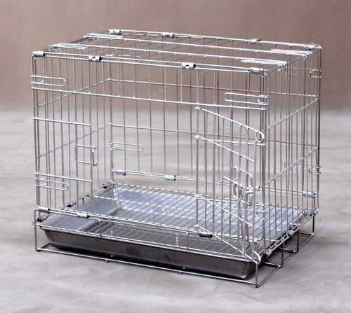 Collapsible Stainless Steel Pet Cage S110