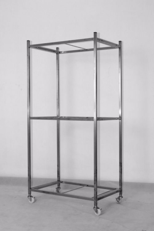 S311 Taiwan 304 Material Stainless Steel Cage Rack For 3 Units S103 Stainless Steel Cage