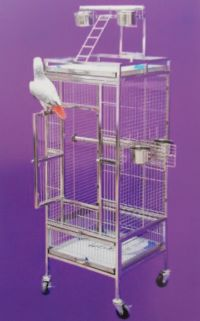 Stainless Steel Parrot Cage SA18