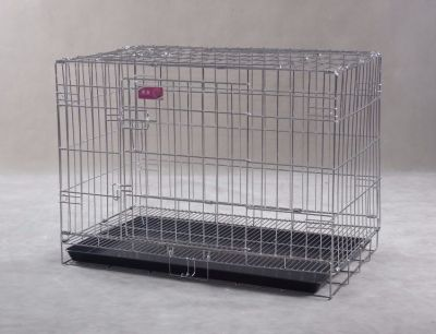 Collapsible Stainless Steel Pet Dog Cage SC103