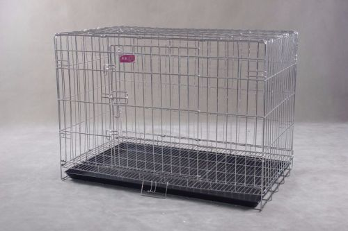 Collapsible Stainless Steel Pet Dog Cage SC104