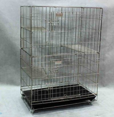 Stainless Steel Cat Cage SCC201
