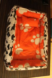 Dog Bed Orange Model PB1075
